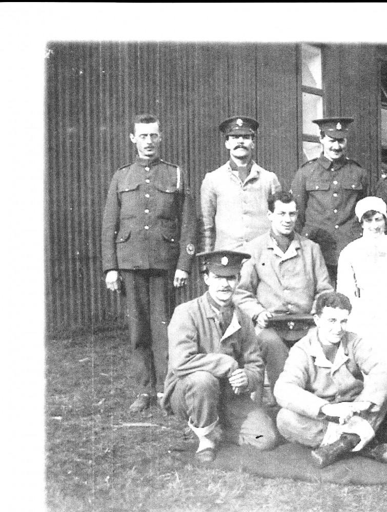 IM54 Fovant Hospital Wounded Troops, Orderlies And Nurse Jpg