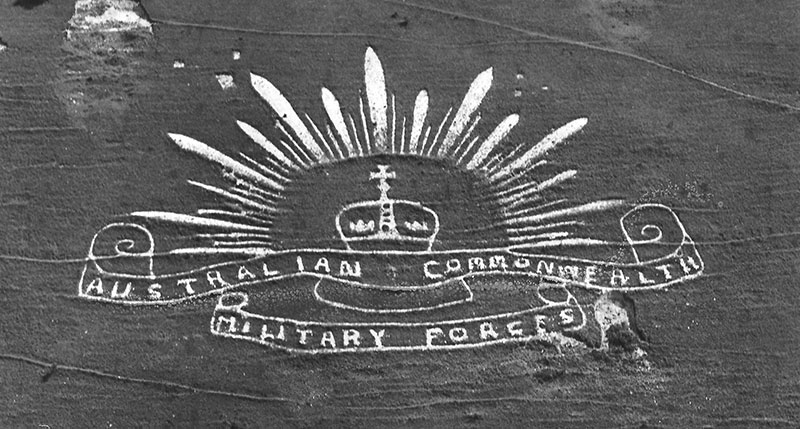 The ACMF badge in 1970