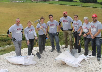 (16/2/13) Team rubicon and the chalk thanks for all your help